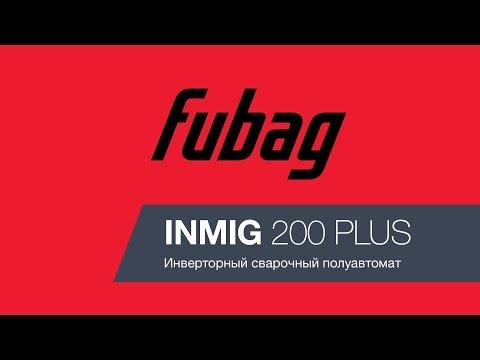 Сварочный полуавтомат Fubag INMIG 200 Plus