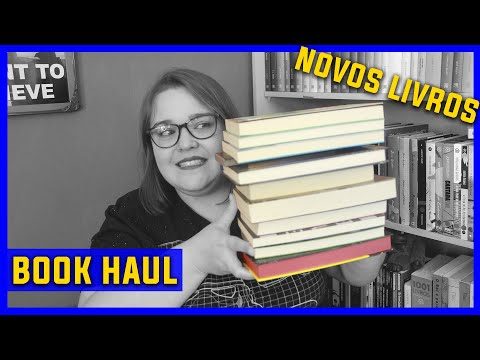 Book Haul   Li num Livro