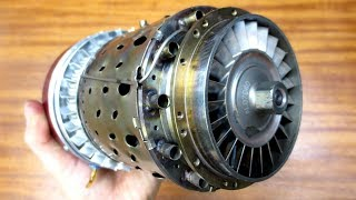 Микро реактивный двигатель HAMMER iQ-180