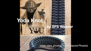 The Raspel Knot Paracord Bracelet design by SFS Weaver 6