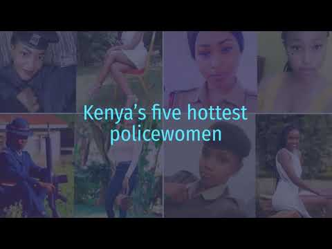 Five hottest policewomen in Kenya