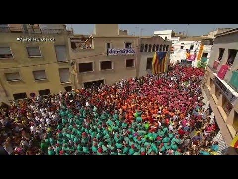 Diada castellera de la Bisbal del Penedès 2017