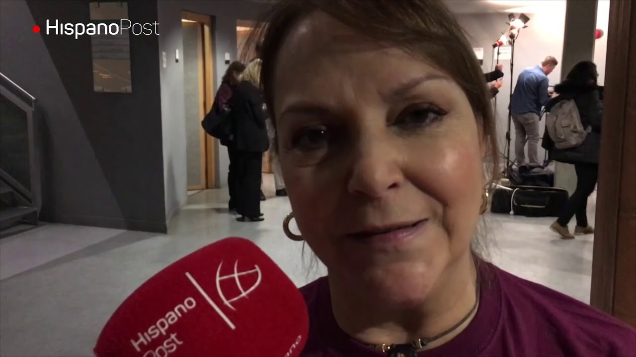 Mitzy Capriles de Ledezma habla para HispanoPost