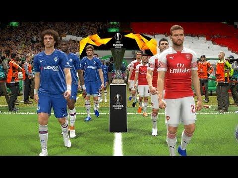 CHELSEA vs ARSENAL - Europa League FINAL 2019