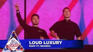 Loud Luxury   'Body' FT. Brando (Live At Capital's Jingle Bell Ball 2018)