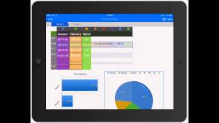 Numbers for iPad: Adding Graphs and Charts to Spreadsheets on iPad