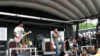 Every Time I Die -The Marvelous Slut - Warped Tour - PNC Holmdel, NJ - 07.13.12