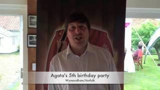 Agata's 5th birthday party