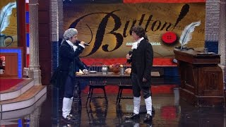 "Lin-Manuel Miranda And Stephen Perform ""Button!"""