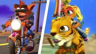 Crash Bandicoot - All Riding Levels (N. Sane Trilogy)