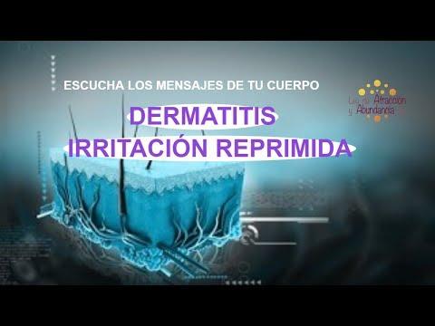 De sal do mar de eczema