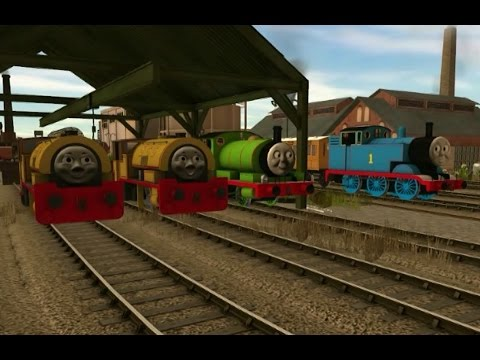 Thomas trainz music video - five new engines in the shed