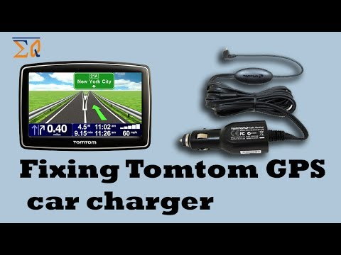 Fixing Tomtom GPS Navigation Car charger 247-001
