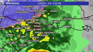 Houston forecast: Chance for snow in northern counties now under Winter Storm Warning