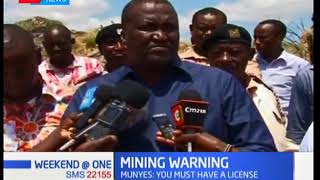 Government reveals that investors involved in illegal mining | KTN News Desk
