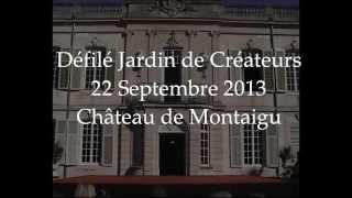 preview picture of video 'Défilé Mademoiselle W... Jardin de Créateurs 2013'