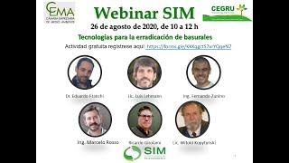 Webinar SIM:  Tecnologías para la erradicación de basurales