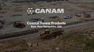 Coastal Forest Products Construction - Timelapse