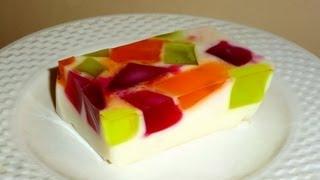 """Смотреть онлайн Рецепт приготовления десерта """"Битое стекло"""" со сгущенкой"""