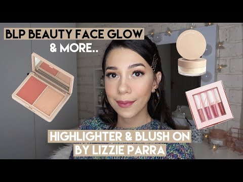BLP Face Glow Blush & Highlighter , Powder , Lip Coat by Lizzie Parra Review Jujur | SHE&CAT