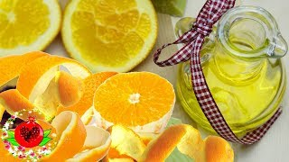 Как сделать домашнее лимонное и апельсиновое масло? Простые рецепты здоровья и красоты