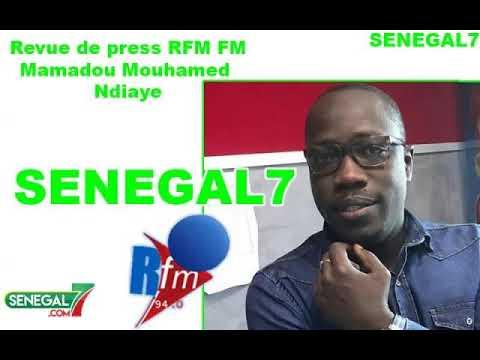 Revue de presse Rfm du samedi 7 Décembre 2019 avec Mouhamed Alimou Ba