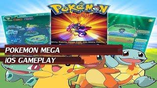 Pokemon Mega - iOS Gameplay   BEST ONLINE POKEMON RPG GAME   POKELANDS ALTERNATIVE