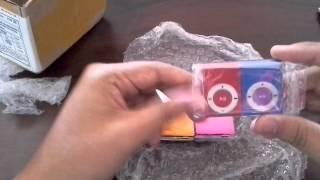 UNBOXING ALIEXPRESS #1 Lote De Mini Mp3 Player Shuflle Clip  IMPORTE AGORA
