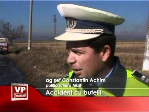 Accident cu butelii