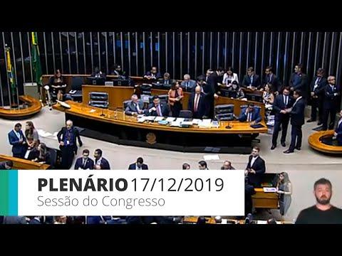 Sessão do Congresso - LOA 2020 - 17/12/2019 - 17:39