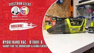 Ryobi 18v One + Hand Vac - R18HV-0