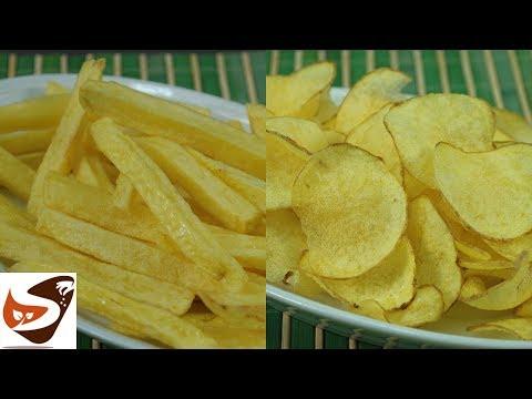 Patatine Fritte - Croccantissime ! – Classiche, Chips e Fiammifero, perfette anche a casa!