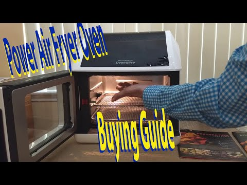 8 QT Family Sized Power Air Fryer Oven REVIEW