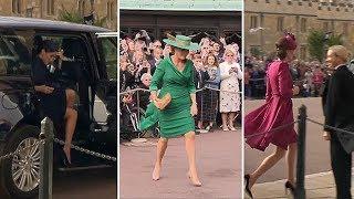 Fashion verdict: Royal outfits at Princess Eugenie