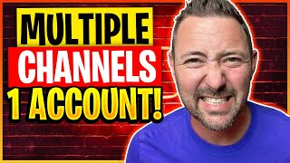 How to Create Multiple Youtube Channels with Same Account