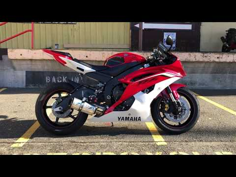 2013 Yamaha YZF-R6 in Auburn, Washington - Video 1