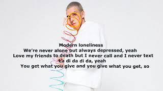 Lauv Modern Loneliness Lyrics - YouTube