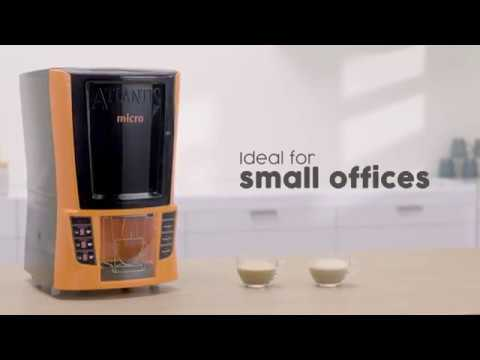 Atlantis 2 Lane Hot Beverage Vending Machine