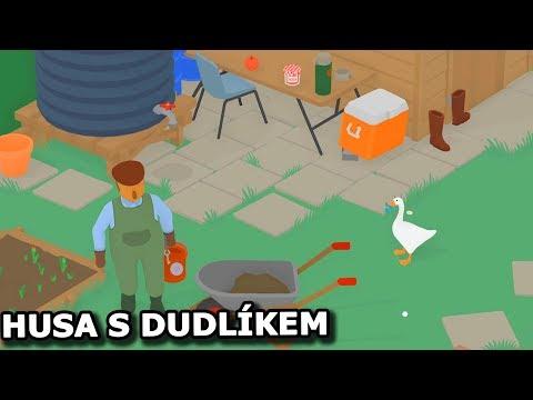 KVÁK! Tohle mě fakt rozesmálo :D - Untitled Goose Game #1