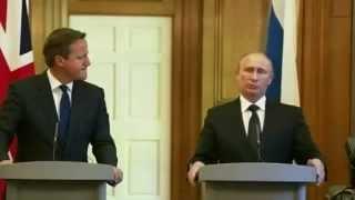Жесткий ответ Путина Кэмерону, по поводу поедания внутренностей