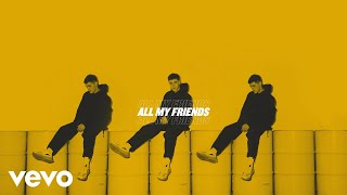 AJ Mitchell   All My Friends (Lyric Video)