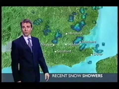 BBC Weather 26th February 2005: Snow Showers