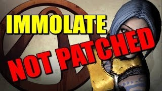 Immolate not patched, Klappa //