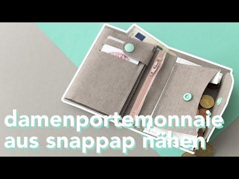 DIY | Damenportemonnaie aus SnapPap nähen