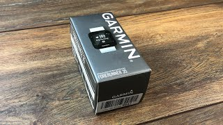 Garmin Forerunner 35 GPS Laufuhr - Test Review & Unboxing der Einsteiger Fitness Uhr