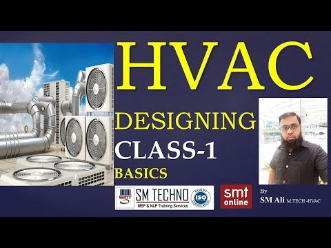 HVAC DESIGNING CLASS 1