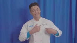 Kid Chef Coleman and His Pancake Creation