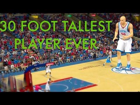 hqdefault - El mod del jugador gigante del videojuego NBA 2K14