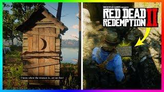 Finding The Braithwaite & Gray's SECRET Treasure In Red Dead Redemption 2 - FREE GOLD BARS! (RDR2)