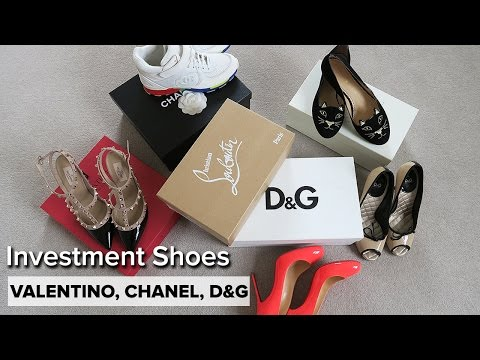 My 5 Favorite Luxe Shoes | Chanel, Valentino, Louboutin, D&G